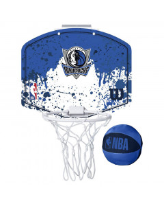 Dallas Mavericks Wilson Fanatic Mini Hoop sobni koš