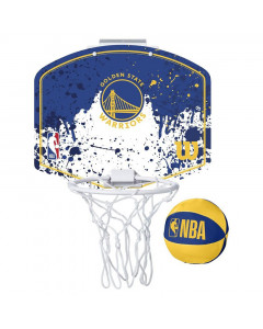 Golden State Warriors Wilson Fanatic Mini Hoop sobni koš