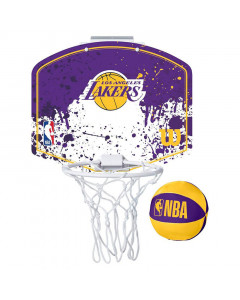 Los Angeles Lakers Wilson Fanatic Mini Hoop sobni koš