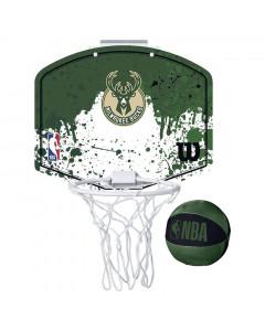 Milwaukee Bucks Wilson Fanatic Mini Hoop sobni koš