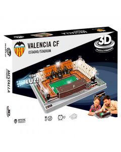 Valencia FC 3D Stadium Puzzle Led Edition