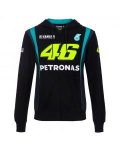 Valentino Rossi VR46 Petronas SRT Yamaha zip majica sa kapuljačom