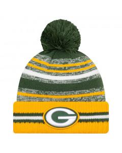 Green Bay Packers New Era NFL 2021 On-Field Sideline Sport zimska kapa