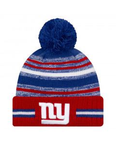 New York Giants New Era NFL 2021 On-Field Sideline Sport zimska kapa