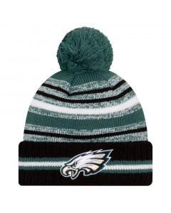 Philadelphia EaglesNew Era NFL 2021 On-Field Sideline Sport Wintermütze