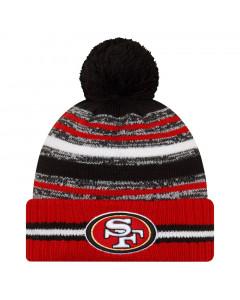 San Francisco 49ersNew Era NFL 2021 On-Field Sideline Sport Wintermütze