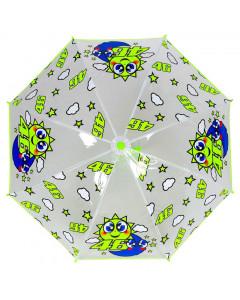 Valentino Rossi VR46 Sun and Moon Kinder Regenschirm
