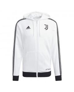 Juventus Adidas 3S zip majica sa kapuljačom