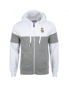 Real Madrid N°6 zip majica sa kapuljačom