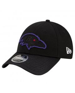 Baltimore Ravens New Era 9FORTY Sideline Road OTC Stretch Snap kapa