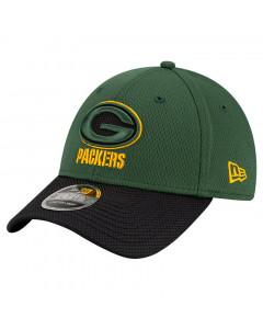 Green Bay Packers New Era 9FORTY Sideline Road OTC Stretch Snap kapa
