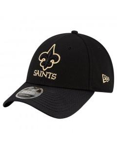 New Orleans Saints New Era 9FORTY Sideline Road OTC Stretch Snap kapa