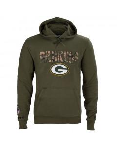 Green Bay Packers New Era Camo Wordmark pulover s kapuco