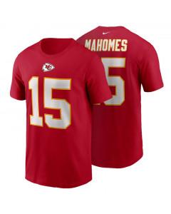 Patrick Mahomes 15 Kansas City Chiefs Nike Name & Number majica