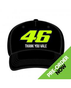 Valentino Rossi VR46 Thank You Vale Mütze