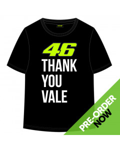 Valentino Rossi VR46 Thank You Vale Kinder T-Shirt