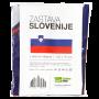 Slovenija zastava 140x70 cm z dvema rinkama