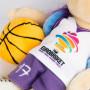 Maskottchen Sam EuroBasket 2017
