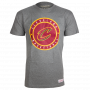 Cleveland Cavaliers Mitchell & Ness Circle Patch Traditional T-Shirt