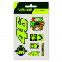 Valentino Rossi VR46 Small set Aufkleber