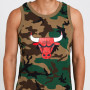 Chicago Bulls New Era Camo Tank Shirt