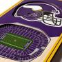 Minnesota Vikings 3D Stadium Banner slika