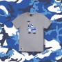 Los Angeles Dodgers New Era Camo Logo majica