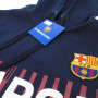 FC Barcelona Cross pulover s kapuco
