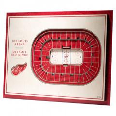 Detroit Red Wings 3D Stadium View slika