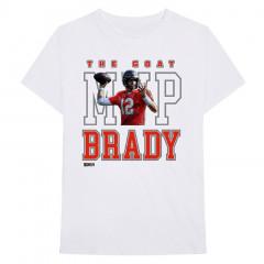 Tom Brady 12 MVP White majica