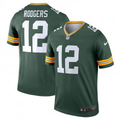 Aaron Rodgers 12 Green Bay Packers Nike Legend dres