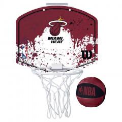 Miami Heat Wilson Fanatic Mini Hoop sobni koš