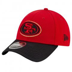San Francisco 49ers New Era 9FORTY Sideline Road OTC Stretch Snap kapa