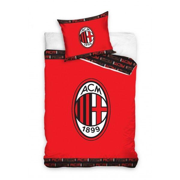 Ac Milan Bettwäsche 140x200 Stadionshop