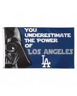 Los Angeles Dodgers zastava Star Wars Deluxe