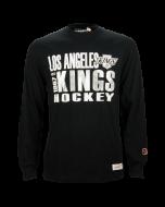 Los Angeles Kings Mitchell & Ness Quick Whistle majica dolgi rokav