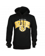 Boston Bruins Mitchell & Ness Team Arch jopica s kapuco