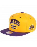 Los Angeles Lakers Mitchell & Ness Double Diamond kapa