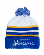 Golden State Warriors Mitchell & Ness Colour Block Special Script zimska kapa