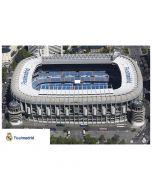 Real Madrid Bernabeu poster