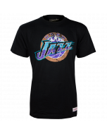 Utah Jazz Mitchell & Ness Distressed HWC Logo majica