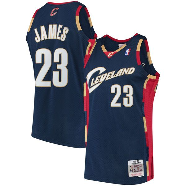 hot sale online 0cb94 605b0 James LeBron 23 Cleveland Cavaliers 2008-09 Mitchell & Ness Swingman Trikot