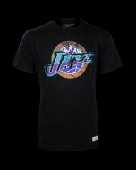 Utah Jazz Mitchell & Ness Distressed HWC Logo majica