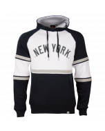 New York Yankees Majestic Athletic Block OTH pulover s kapuco (MNY3776WB)
