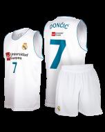 Real Madrid Baloncesto replika komplet otroški dres Dončić