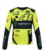 Valentino Rossi VR46 Monster Replica majica dolgi rokav (MOMTS316028)