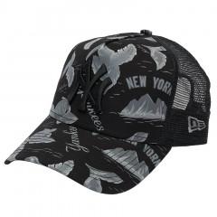 New York Yankees New Era A Frame Trucker Desert Island kačket