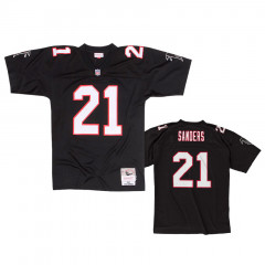 Deion Sanders 21 Atlanta Falcons 1992 Mitchell & Ness Throwbacks Legacy dres