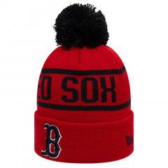 Boston Red Sox New Era Black Bobblezimska kapa