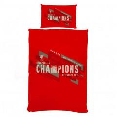 Liverpool Champions obojestranska posteljnina 135x200